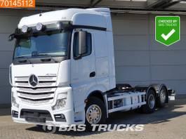 chassis cabine vrachtwagen Mercedes-Benz Actros 2558 6X2 Retarder Liftachse Xenon BigSpace 2015