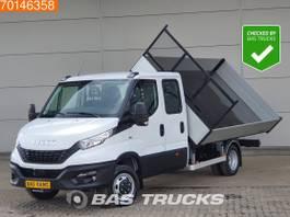 kipper bedrijfswagen Iveco Daily 35 C18 180PK 3-zijdige Kipper 3500kg trekhaak, 370cm laadbak A/C Double cab...