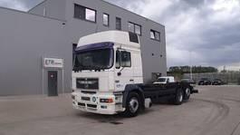 chassis cabine vrachtwagen MAN 26.403 (6 CYLINDER ENGINE WITH ZF-GEARBOX / EURO 2 / 8 TIRES / 6X2) 1998