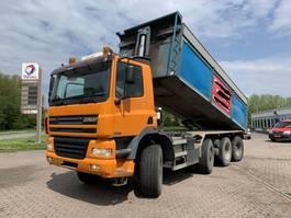 kipper vrachtwagen Ginaf X4446 TS 8x8 25m3 Manual Gearbox EURO3 2002