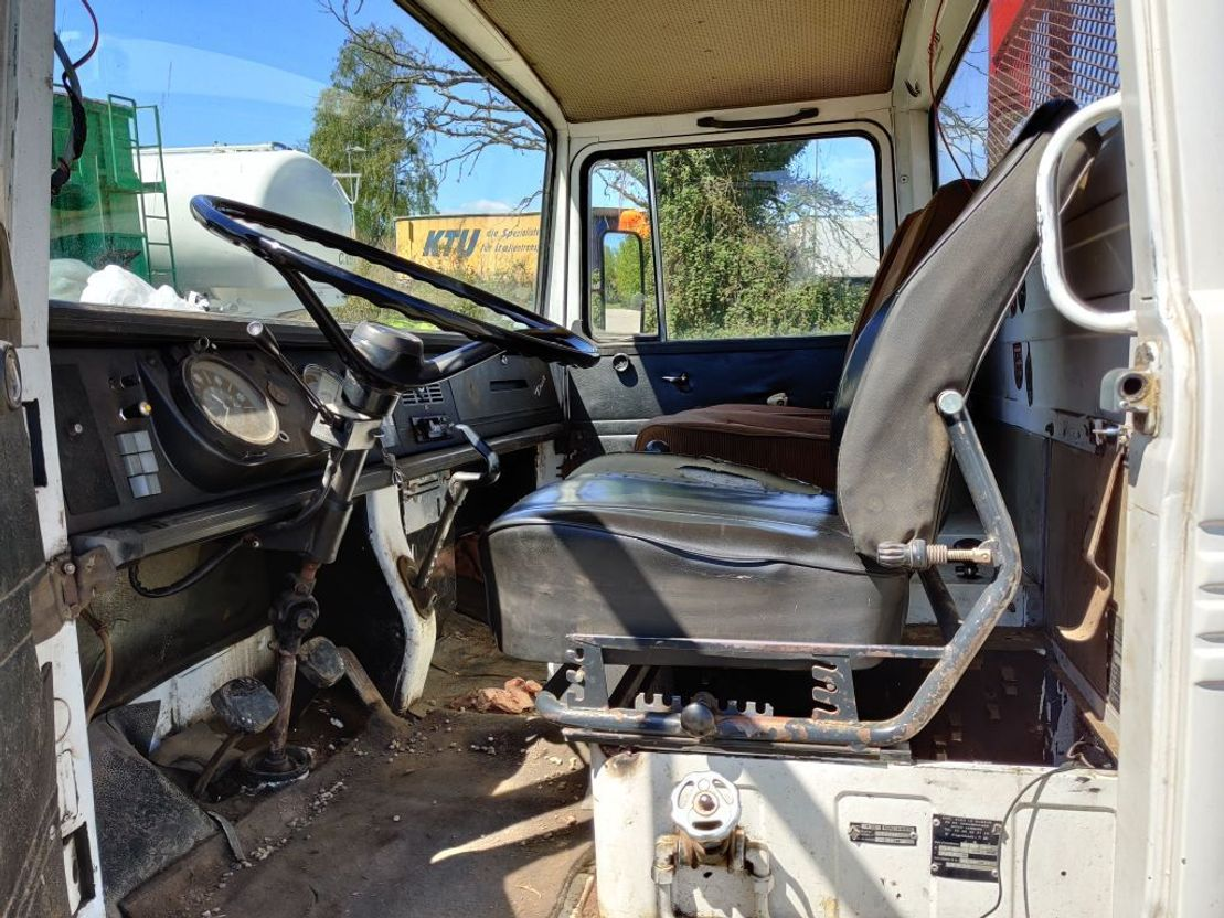 driezijdige kipper vrachtwagen Mercedes-Benz Mercedes 608 ***SUPERSUPERSUPER!!!*** 1968