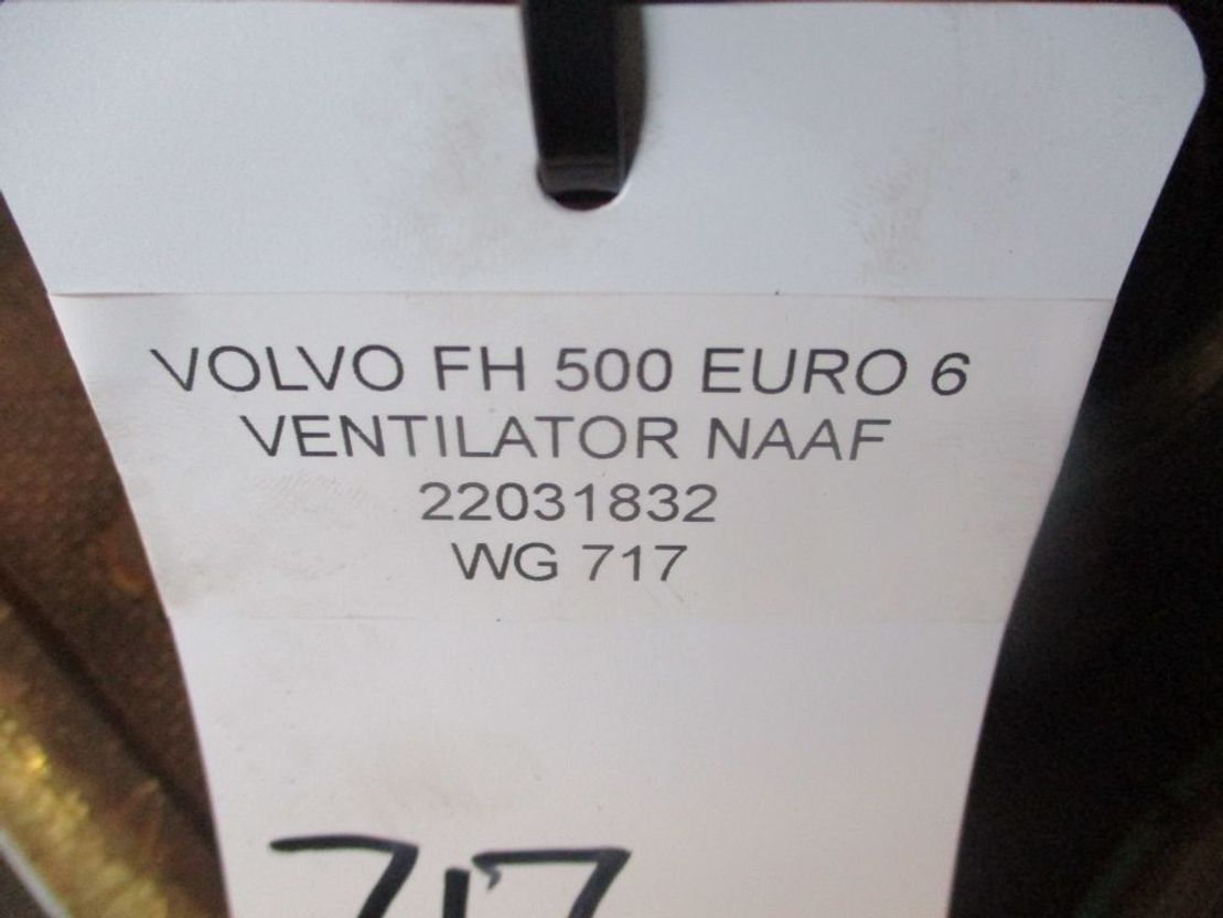 Naaf vrachtwagen onderdeel Volvo 22031832 VENTILATOR NAAF EURO 6