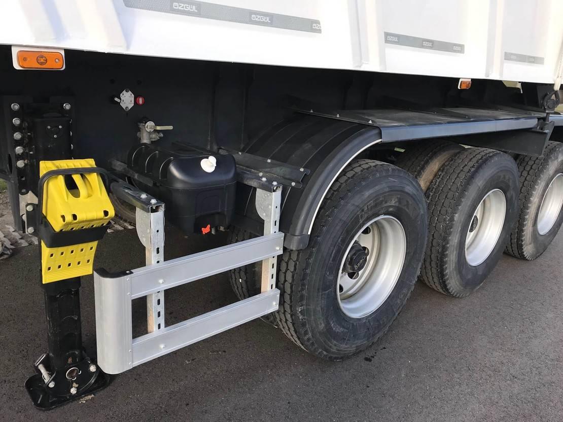 kipper aanhanger Diversen Ozgul 45 CBM Dump Semi Trailer 3 axle | NEW 2019