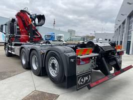 containersysteem vrachtwagen MAN New Generation 35.470 8x4-4 BL-NN HMF 2243-Z2 kraan+containerhaak 2022