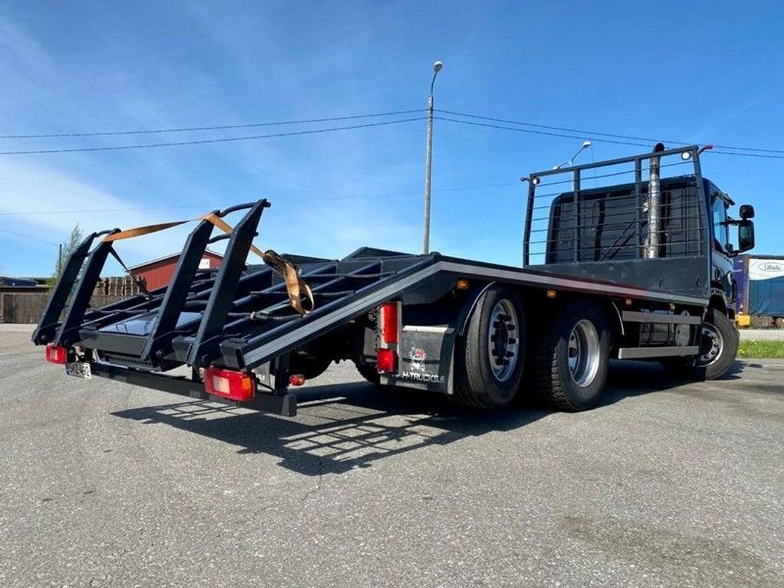 autotransporter vrachtwagen Scania P340 6x2*4 3700 2009