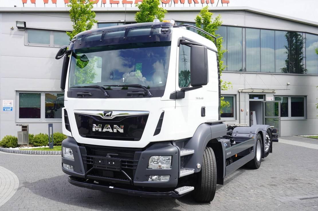 chassis cabine vrachtwagen MAN , HYDRODRIVE , 6x6x4 , NEW , UNUSED , 400 km , steer/ 2021