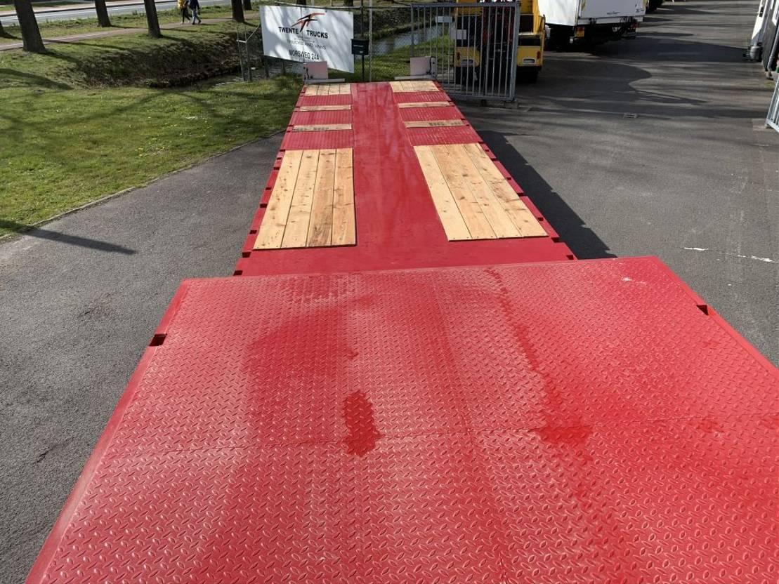 semi dieplader oplegger Diversen DONAT trailer 3A uitshuifbaar semi naloopas gestuurd nieuw extendable DNT3 2021