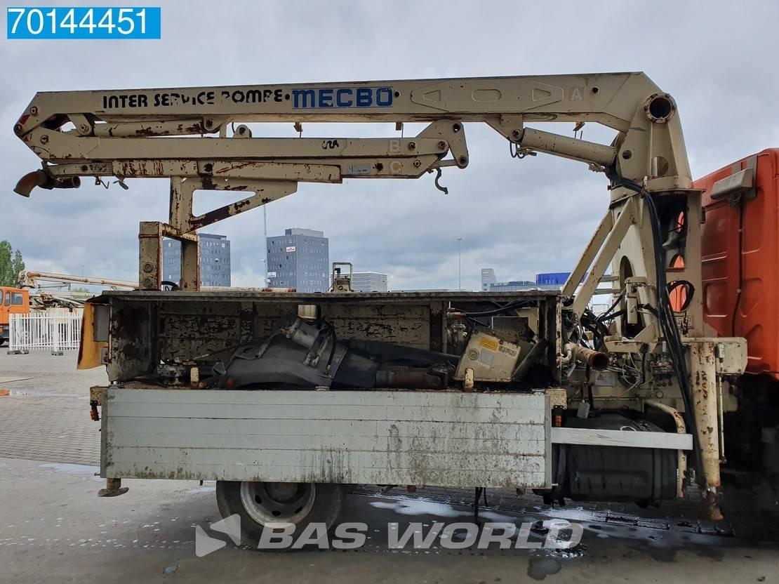 betonpomp vrachtwagen Renault 4X2 Manual Steelsuspension Euro 3 Damaged 2000