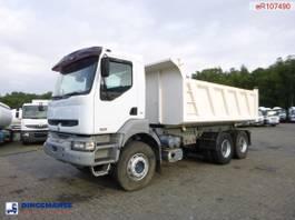 kipper vrachtwagen > 7.5 t Renault Kerax 420 6x4 Marrel tipper 2007