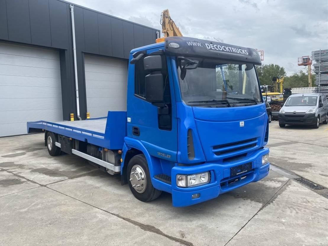 autotransporter vrachtwagen Iveco EUROCARGO 12E22 EURO 5