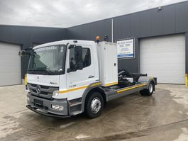 containersysteem vrachtwagen Mercedes-Benz ATEGO 1218 HAAKSYSTEEM EURO5