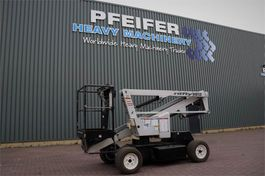 knikarmhoogwerker wiel Niftylift HR12NDE Bi-Energy, 12.2m Working Height, 6.10m Rea 2014