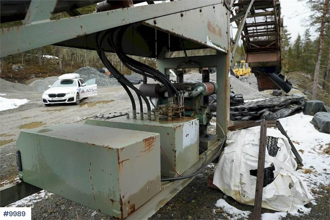 zeefinstallatie Diversen Telescreen sorting plant 1988