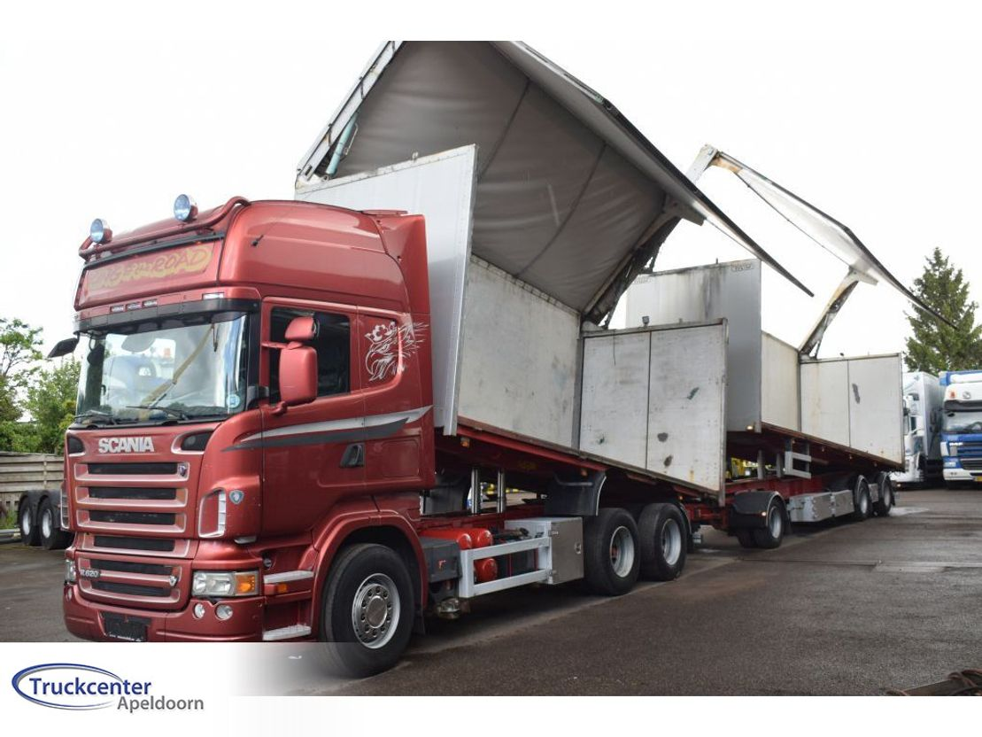 kipper aanhanger Diversen Tyllis L3 + Scania R620, Truckcenter Apeldoorn 2008