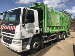 vuilkar camion DAF CF 75 **6x2-EURO 5-BELGIAN TRUCK** 2007