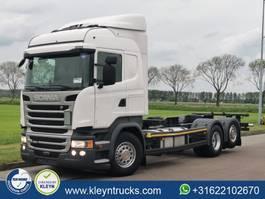 wissellaadbaksysteem vrachtwagen Scania R450 hl mnb scr only 2017