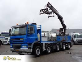 kraanwagen Ginaf 460 CLEAN 5 + Euro 5 + HIAB 211EP CRANE + 10X4+REMOTE 2010