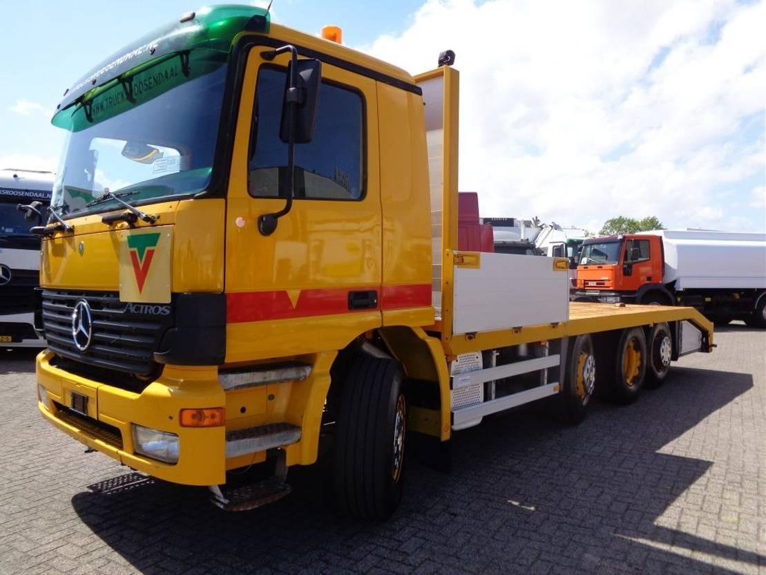 autotransporter vrachtwagen Mercedes-Benz 3540 + Autotransport + 8x2 2002