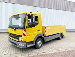 tankwagen vrachtwagen Mercedes-Benz Atego 815 L 4x2 Atego 815 L 4x2, Zellinger Saug-/Spülwagen 2005
