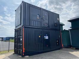 generator MTU 12 V 2000 Stamford 500 kVA Supersilent generatorset in 20 ft container 1998
