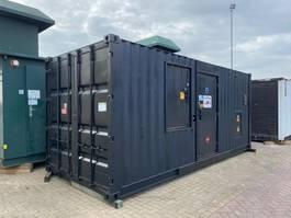 generator MTU 12 V 2000 Stamford 500 kVA Supersilent generatorset in 20 ft container 2003