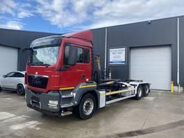 containersysteem vrachtwagen MAN TGS 26.440 HAAKSYSTEEM EURO5