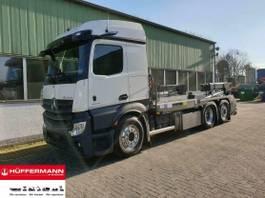 containersysteem vrachtwagen Mercedes-Benz Actros 2545 L 6x2 mit velsycon SASK 26.18 silo 2020