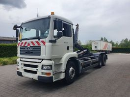 containersysteem vrachtwagen MAN TGA 28.360  6X2 CONTAINER SYSTEEM- CONTAINER SISTEEM- CONTAINER HAAKSYSTEEM- SYSTEME CONTENEUR 2004
