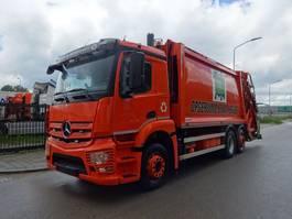 vuilkar camion Mercedes-Benz ANTOS 2532 6X2 EURO 6  VUILNISWAGEN / KEURING / TUV / LOW KM / PERFECT CONDITION !! 2014