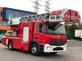 autohoogwerker vrachtwagen Mercedes-Benz Atego III 1630, Steigerleiter, EURO-6 2016
