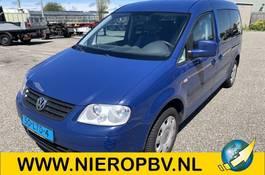 rolstoelvervoer auto Volkswagen caddy maxi invalide vervoer airco automaat 2010