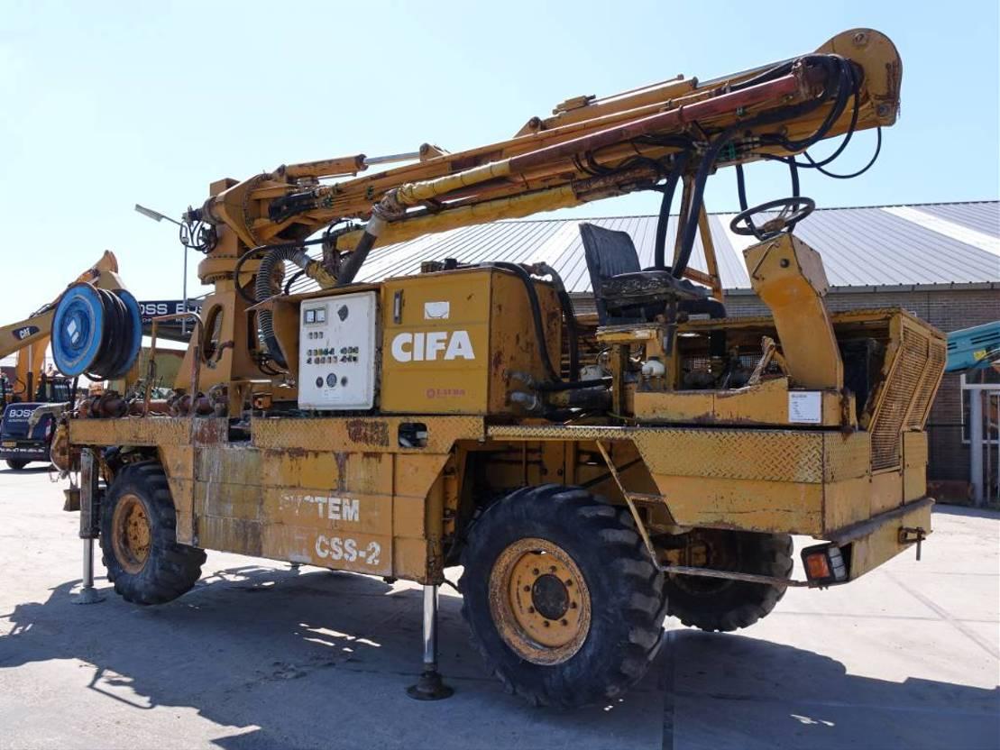 betonpomp vrachtwagen Cifa S.6 - Low Hours / Strong Machine 1992