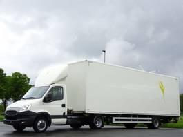 be trekker bedrijfswagen Iveco Daily 35C21 + Beheizter ISO Koffer-Auflieger LBW Klima Euro 5 2014
