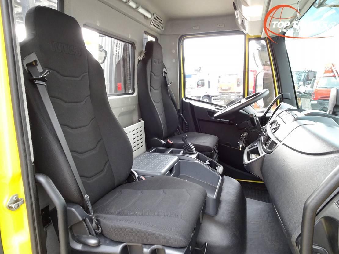 autotransporter vrachtwagen Iveco EuroCargo 120 -250 Thijhof 2-3 lader, Twin deck, Doppelstock - Lier, Winch, Winde - Eu... 2017