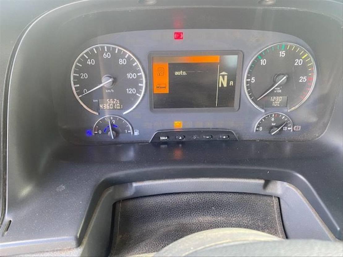 kipper aanhanger Mercedes-Benz 1841 Actros 4x4 Kipper 2011