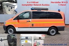 ambulance bedrijfswagen Mercedes-Benz 116 Aut. 4x4 WAS Notarzt-Rettung- Ambulance 2015