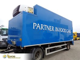 koel-vries aanhangwagen Verdonk VA-TA-KP + Carrier Supra 950 + 2 axle + Dhollandia Lift 2004