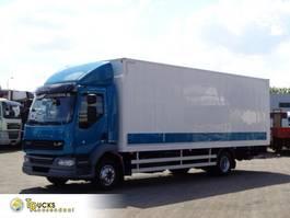bakwagen vrachtwagen DAF 14.210 + Euro 5 + Dhollandia Lift 2014