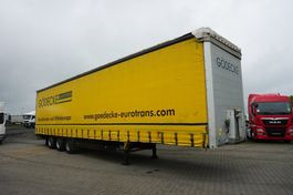 schuifzeil oplegger Schmitz Cargobull MEGA 2013