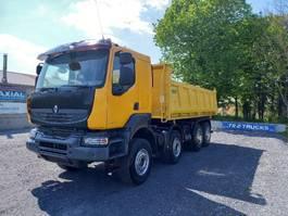 kipper vrachtwagen > 7.5 t Renault Kerax 450 3 WAY TIPPER - 8x4 - new tyres  only 261 000kms