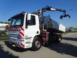kipper vrachtwagen > 7.5 t DAF CF 310 75 CF 310 EURO 5 / 3 ZIJDIGE KIPPER + CRANE / KEURING / TUV !! 2007