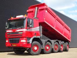kipper vrachtwagen > 7.5 t Ginaf X 5450 5450S / 10x8 TIPPER / EURO 5 / 25 m3 STEEL TIPPER 2009
