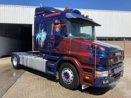 standaard trekker Scania Torpedo 420 pk special show truck !!!!? 2000