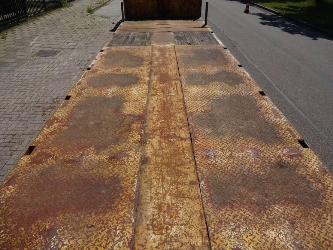 semi dieplader oplegger Nooteboom 2x Extendable till 25 Meter - 3x Hydr Gelenkt/3x Powersteering 1984