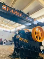 breekinstallatie FABO CLK-110 SERIES 180-320 TPH PRIMARY JAW CRUSHER 2021