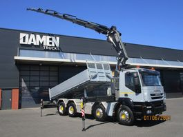 kipper vrachtwagen > 7.5 t Iveco 340T45 Trakker 8x4 Euro 5 2011