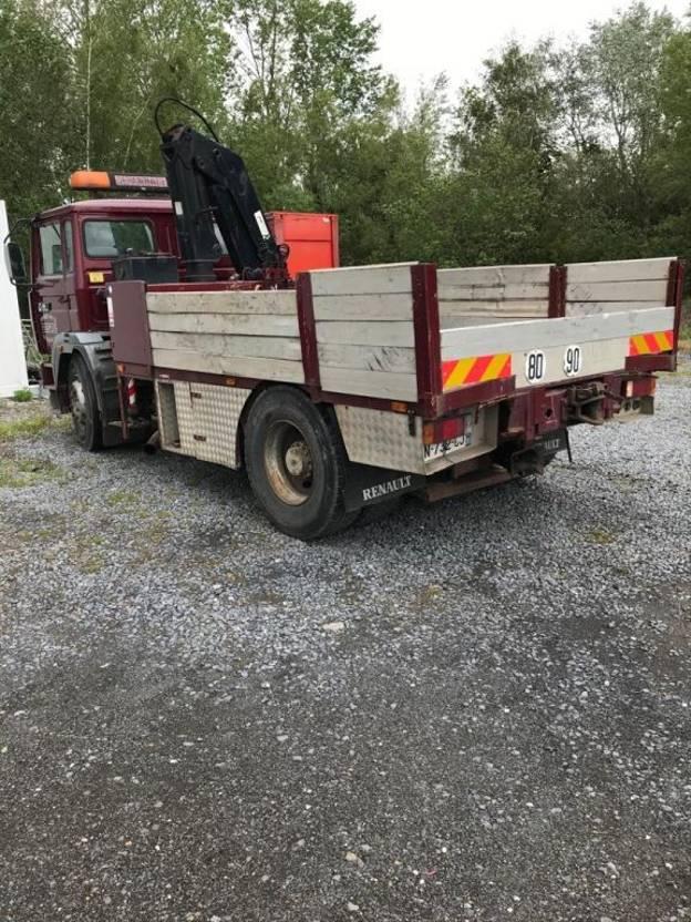 platform vrachtwagen Renault G300 Depannage 1991