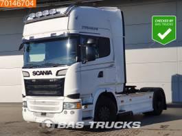 standaard trekker Scania R490 4X2 Retarder ACC 2x Tanks Hydraulik Navi 2014