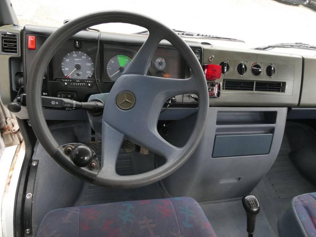 autotransporter vrachtwagen Mercedes-Benz 614 1997
