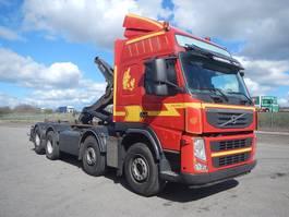 containersysteem vrachtwagen Volvo FM 500 8x2 kroghejs 2012